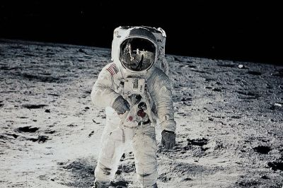 Neil Armstrong was the first man to land on the moon - so the story goes