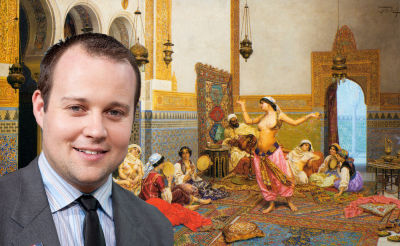Josh Duggar will get all the pussy he wants and it will be okay with Bible God