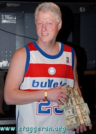 Bling bling Clinton Gore rich after white house gig