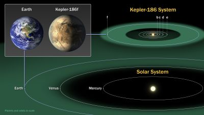 Researchers suggest that Kepler-186f's axial tilt is very stable, much like the Earth
