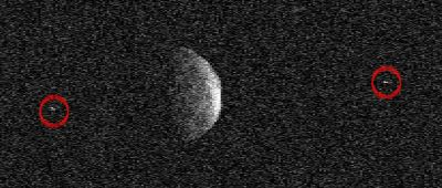 asteroid with two moons